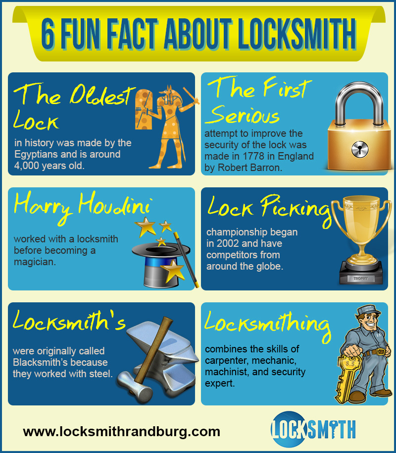 fun facts about locksmiths